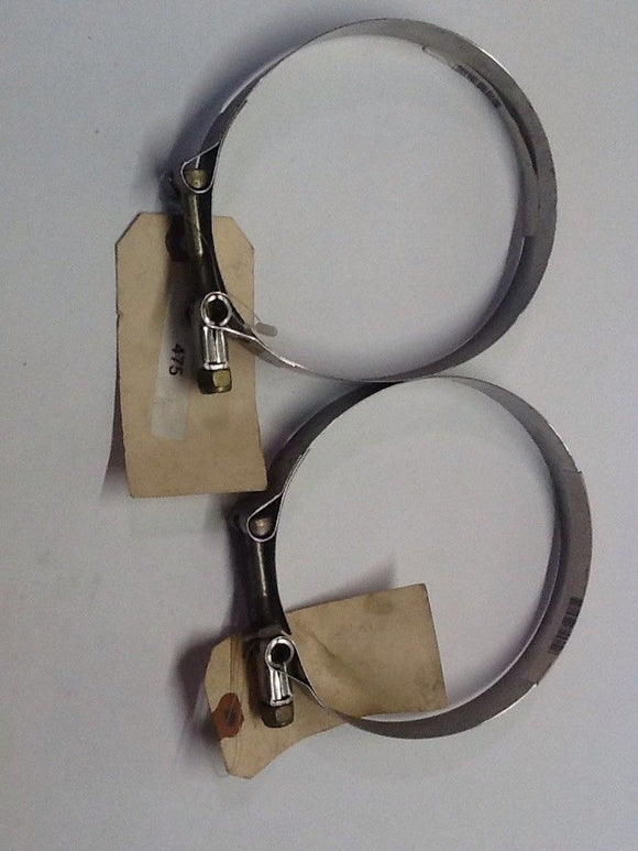 Breeze TB 475 Stainless T-Bolt Clamp [2 IN LOT] NOS