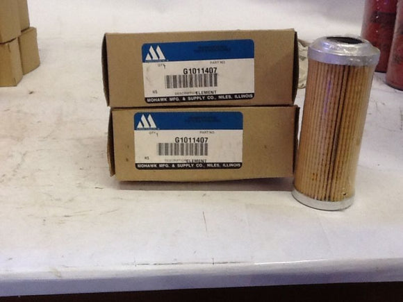 Mohawk Element Filter QTY2 G1011407 NOS
