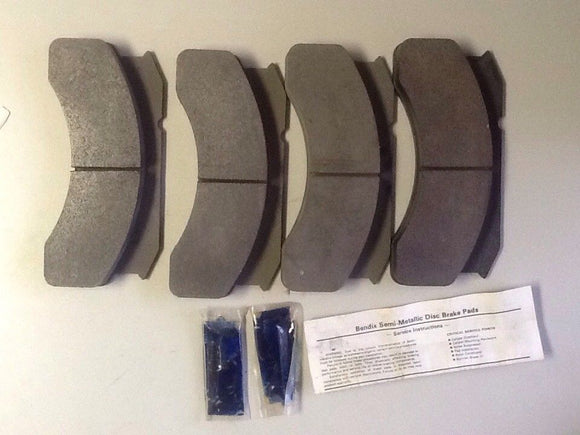 Bendix MK236PREM Semi-Metallic Hydraulic Disc Brake Pads NOS