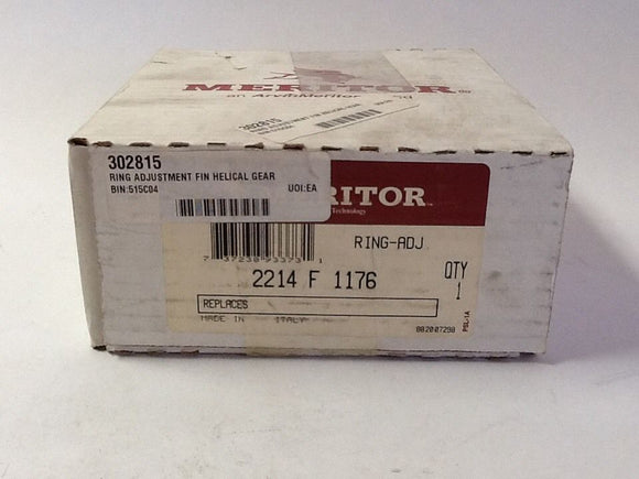 Meritor 2214F1176 Adjustment Ring NOS