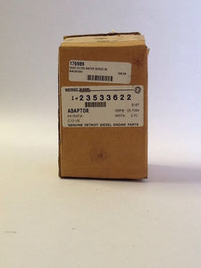 Detroit Diesel Water Filter Adaptor 23533622 NOS