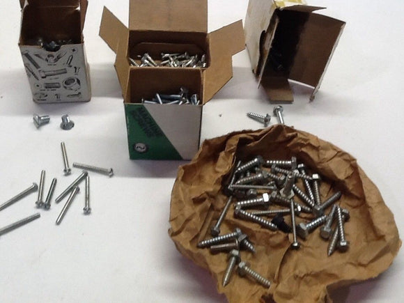 Misc Screw Set Various Sizes And Quantity NOS