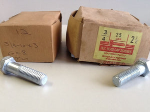 (37) 3/4-10 Hex Cap Screw Bulk lot (SKU#2131/A73)