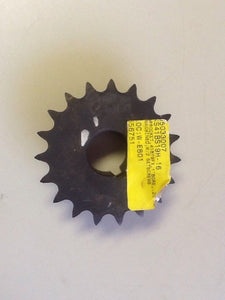 "Unbranded 05033007 19 Tooth Sprocket With 1"" Bore NOS"