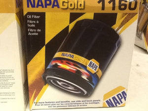 Napa Gold Filter 1160 [2 IN LOT] NOS