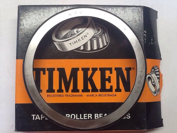Timken 672 Tapered Roller Bearing NOS