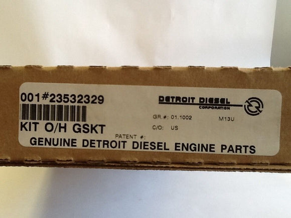 Detroit Diesel Engine Gasket Kit 23532329 NOS