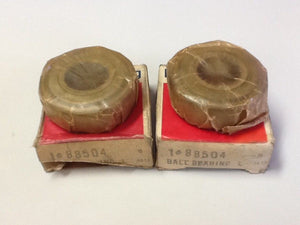 NDH Delco 88504 Ball Bearing [LOT OF 2] OEM NOS