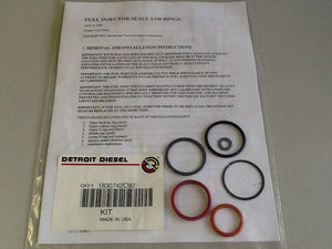 Detroit Diesel 1830742C92 Fuel Injector Seals & Rings (SKU#2657/C103/5)
