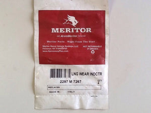 Meritor 2297M7267 Indicator Lining Wear [12 IN LOT] NOS
