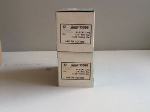 (20) Auveco 10398 Hair Pin Cotters NOS
