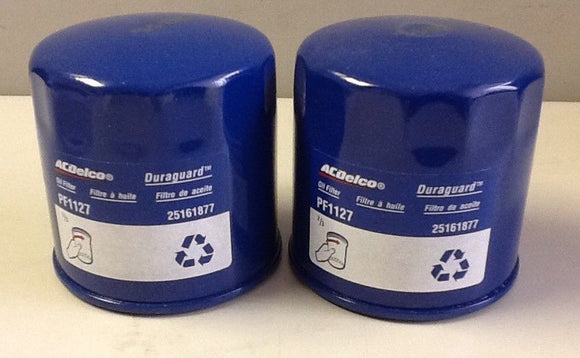ACDelco PF1127 Duraguard Oil Filter (2 IN LOT) NOS