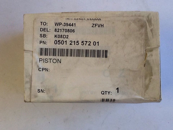 ZF Friedrichshafen Transmission 0501.215.572 Piston Accumulator NOS