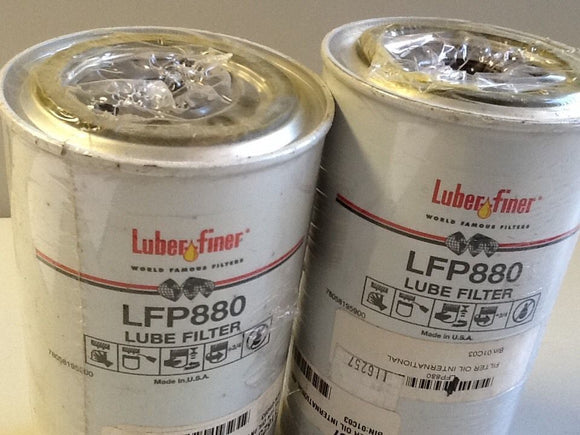 Luber Finer  LFP880  Oil Filter [2 IN LOT] (SKU#1540/A31)
