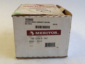Meritor 1229S747 Camshaft Washers, Box Of 100 NOS