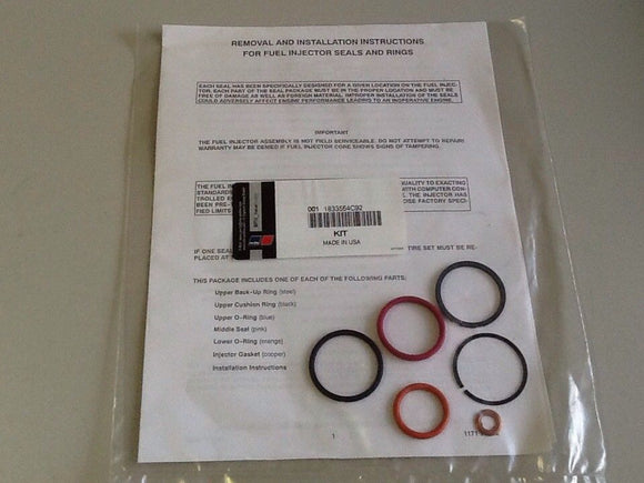 MTU / International 1833564C92 Fuel Injector Seals & Rings (SKU#2658/C64/5)