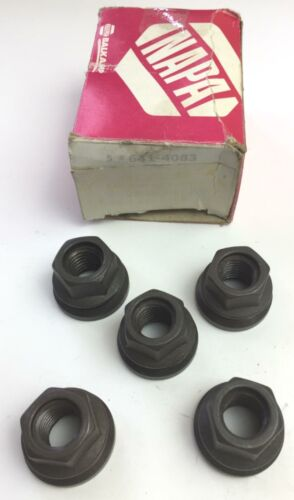 Napa 641-4083 Pack of 5 Wheel Nuts NOS