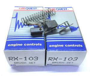 CarQuest Alternator Brush Set RX-103 [Lot of 2] NOS