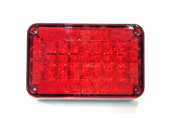 Sound Off Red LED Tail Lamp 6.5