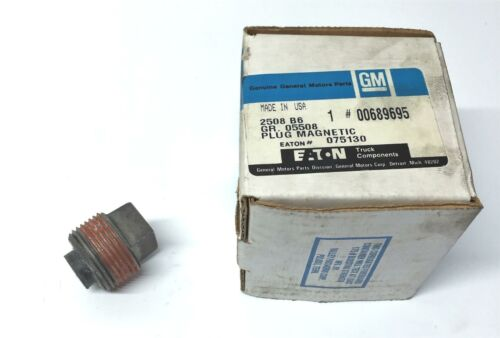 General Motors GM/Eaton Magnetic Trap Plug 00689695 NOS