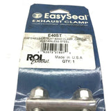 "Easy-Seal 4"" Polished Stainless Steel Ultra Seal Joint Exhaust Band Clamp NOS"