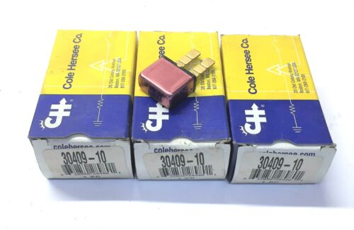 Cole Hersee 10 Amp Circuit Breaker 30409-10 [Lot of 3] NOS