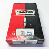 Champion Copper Plus Spark Plug 123 RN5C [Lot of 5] NOS