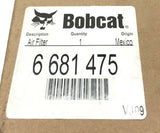 Bobcat Skid Steer Air Filter 6681475 NOS