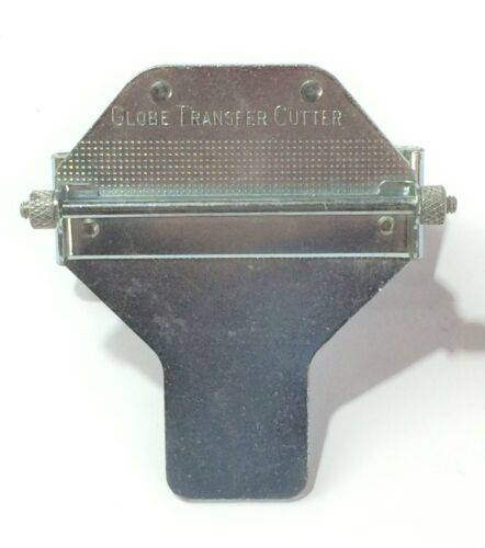 Globe Transfer Cutter W/O Notcher 600091 NOS