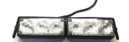 Unbranded Mini LED Lightbar w/ White/Clear Lens & Mount