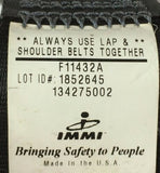 IMMI SEAT BELT F11432A EXT Male and Female Connector NOS