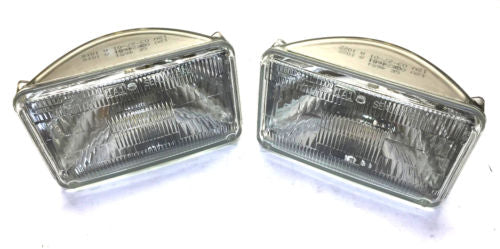 General Electric GE Sealed Beam Incandescent Headlight 4651 [Lot of 2] NOS