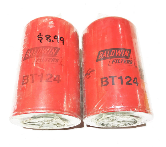 Baldwin Filters Oil Filter BT124 [Lot of 2] NOS