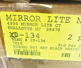 Mirror-Lite West Coast Style Heated Mirror Assembly 10-134 NOS