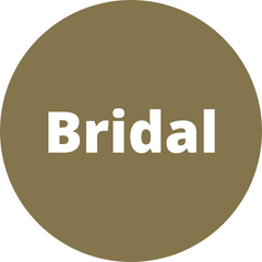 Bridal collection with white and blue lingerie