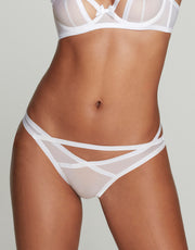 Agent Provocateur Joan brief in white