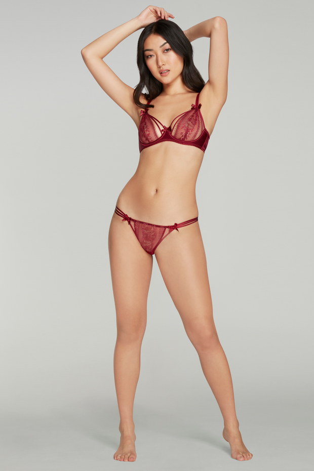 Agent Provocateur Tanya Red brief
