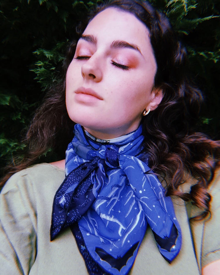 Silk Scarf Hecate