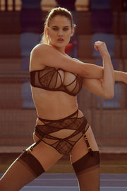 Agent Provocateur Iza sexy lingerie set at NIN