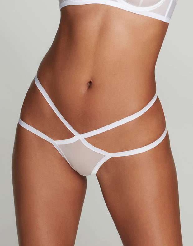 Agent Provocateur Joan white thong