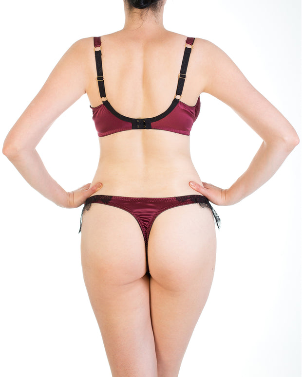 Eleanor Damson Thong