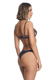 Questa Sera thong in Midnight blue by I.D. Sarrieri