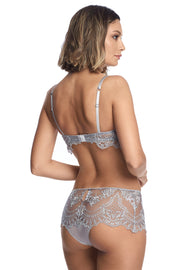 Sarrieri Evening Goddess Silver Longline balconette bra