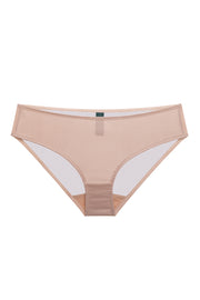 Powder pink silk brief