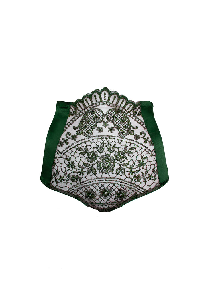 Bohemian Sunday High waist brief Green