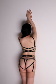 Studio Pia Soraya Black Thong