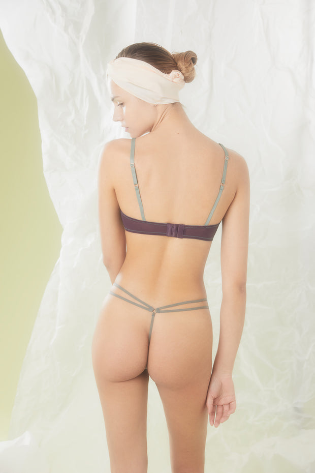 Voiment Thong and bra at NIN Luxury Lingerie