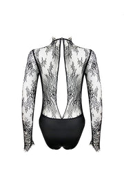 ELF ZHOU Lace bodysuit