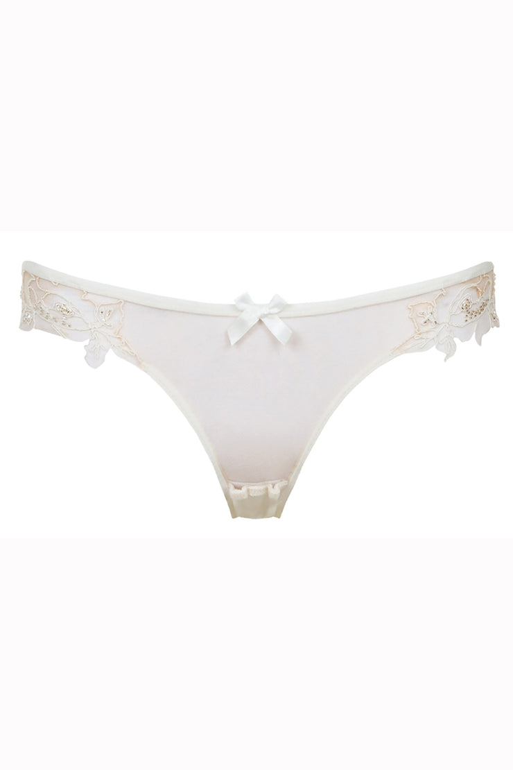 Agent Provocateur Lindie nude brief bridal