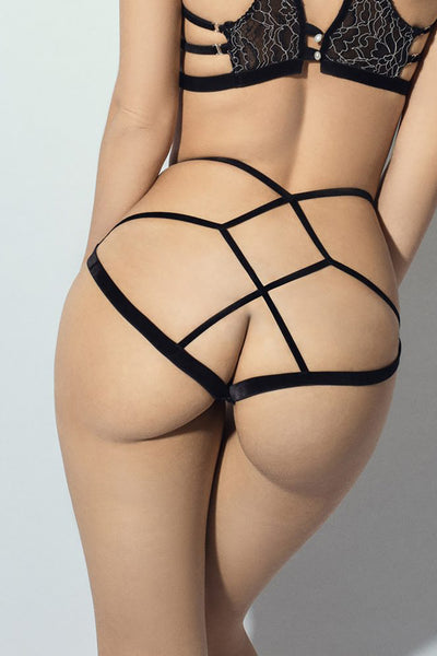 Shades of Grey Cross Back Brief